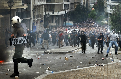 Post image for In Athens, austerity puts revolution back on the menu