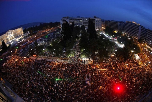 Post image for Hundreds of thousands of 'indignants' protest in Athens