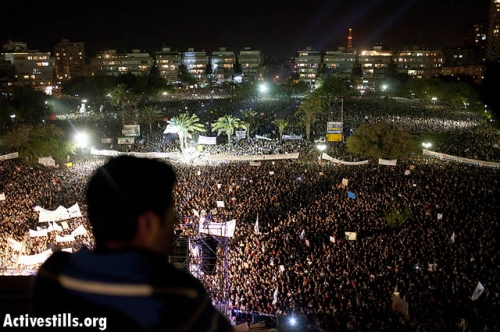Post image for J14 culminates into largest protest in Israeli history