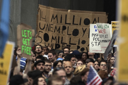 Post image for Wall Street protests swell, spread and go viral across US
