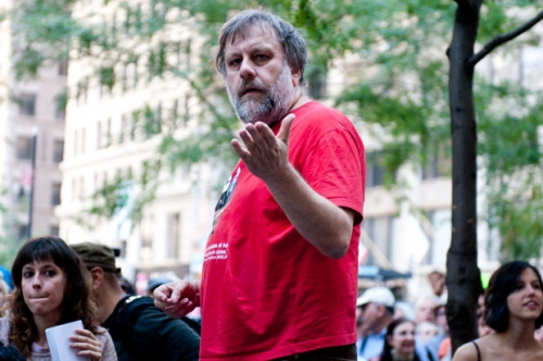 "Post image for Žižek at Wall Street: ""don't fall in love with yourself"""