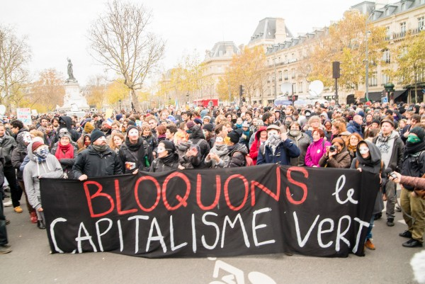 Paris climate march 2