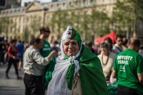 Nuit Debout woman