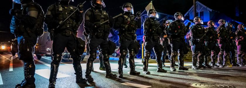 george floyd police portland